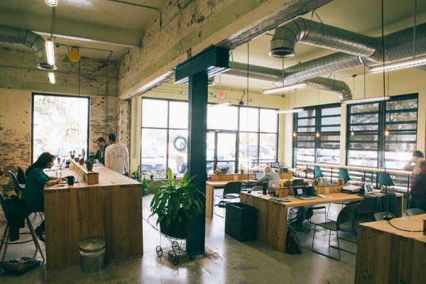 Local Works coworking space in Charleston, SC. Source: Urban Land Institute